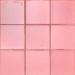 ARTIGIANA-Quadrati-Rosa